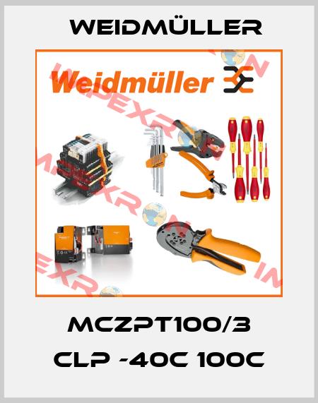Weidmüller-MCZPT100/3 CLP -40C 100C price