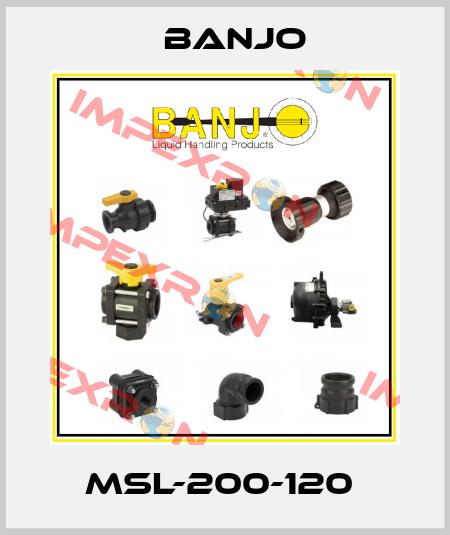 Banjo-MSL-200-120  price